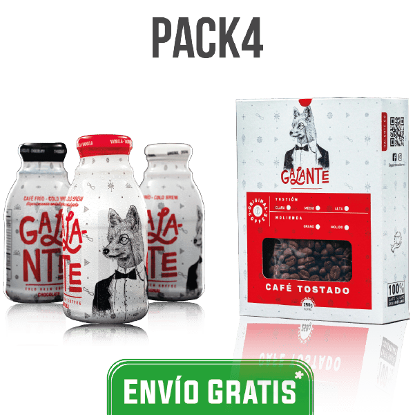 Pack Cold Brew y café tostado Colombia